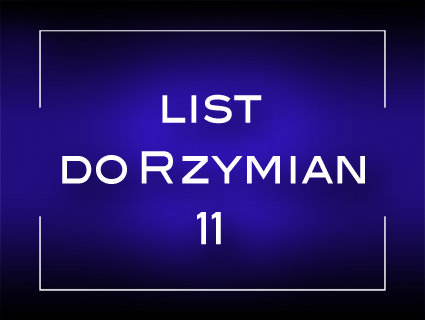 List do Rzymian 11