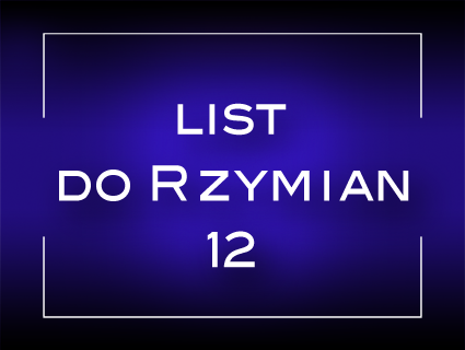 List do rzymian 12
