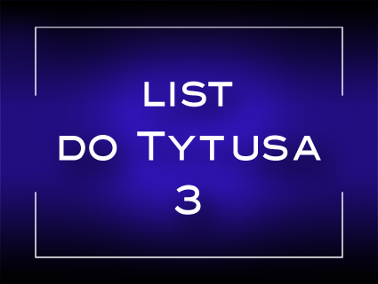 List do Tytusa 3